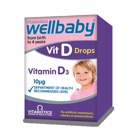 Wellbaby Vitamina D Picături