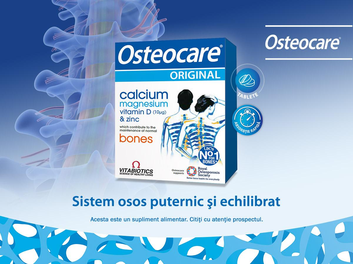 Osteocare Original is a product recommended for maintaining a healthy bone system.