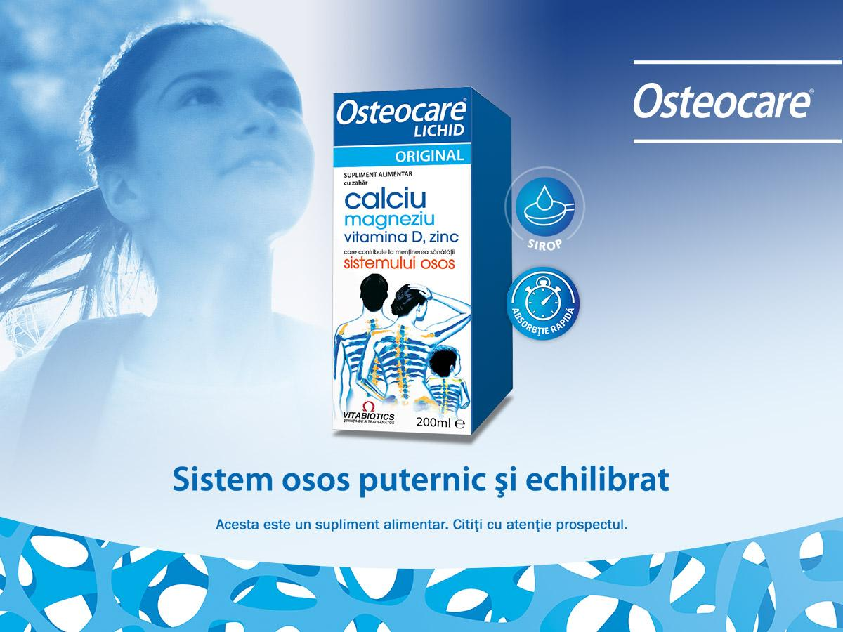 Osteocare Liquid is a product recommended for maintaining a healthy bone system.