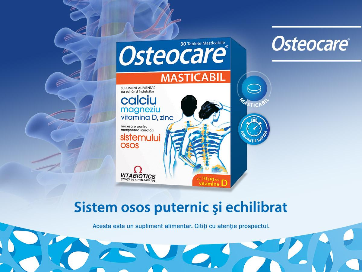 Osteocare Chewable is a product recommended for maintaining a healthy bone system.