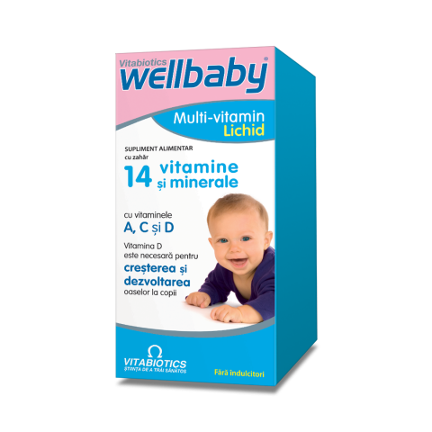 Wellbaby Multivitamin Lichid