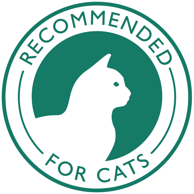 Recommended for cats
