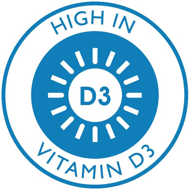 High in Vitamin D3