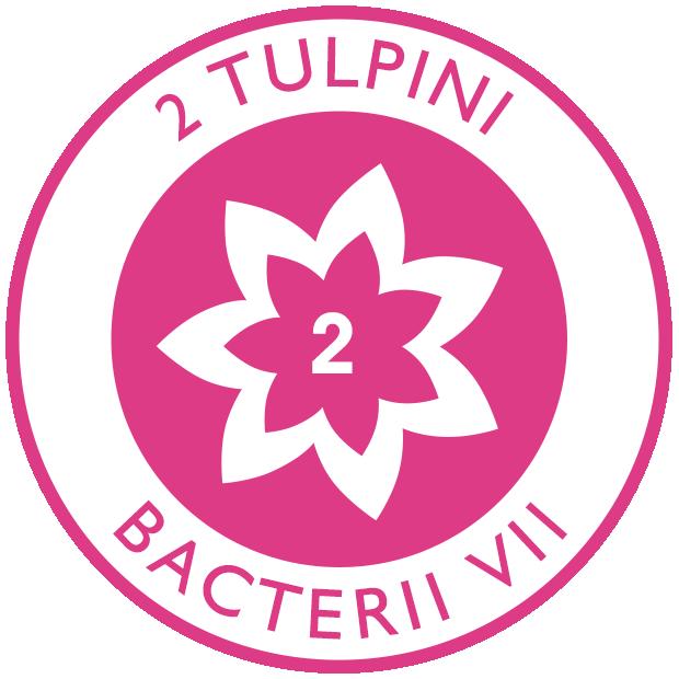 2 tulpini de bacterii vii