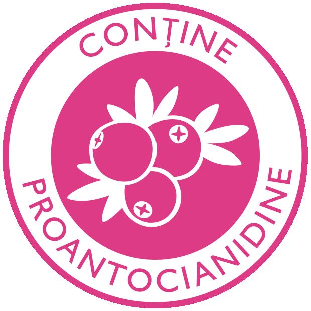 Conține proantocianidine
