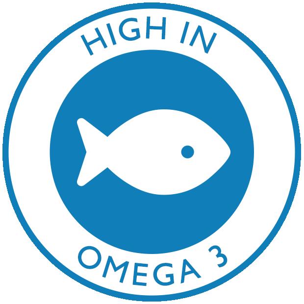 High in Omega 3
