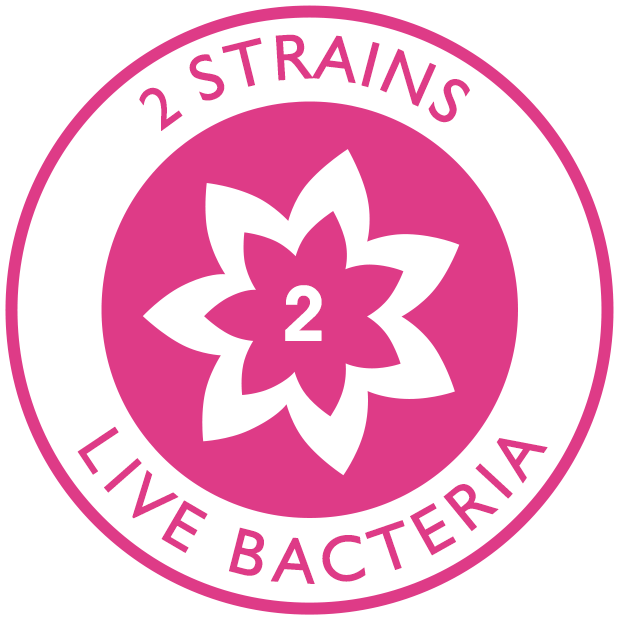 2 strains of live bacteria