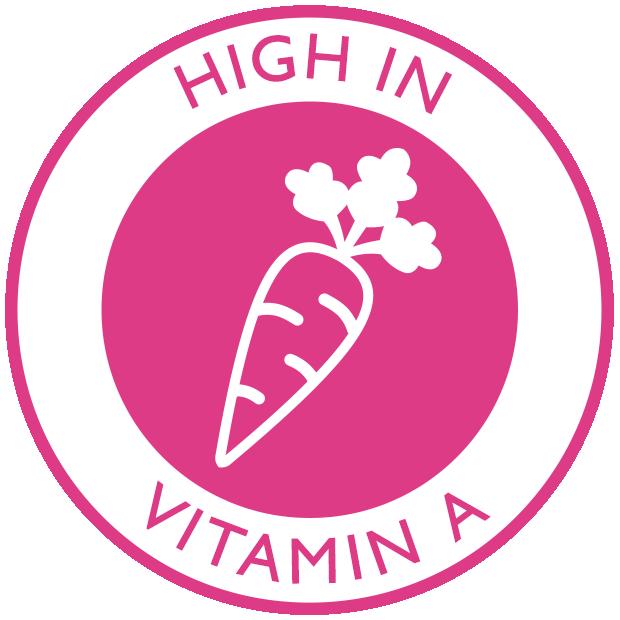 High in Vitamin A