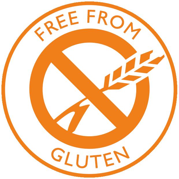 Free from gluten