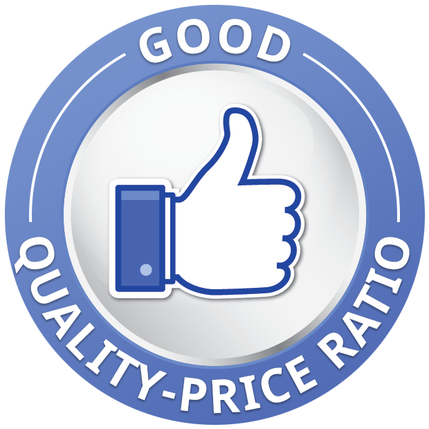 Good quality-price <br>ratio